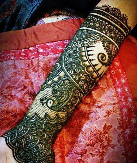 full hand arabic mehndi designs 2