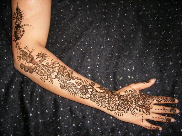 Full Hand Arabic Mehndi Designs 2013  Arabic Henna