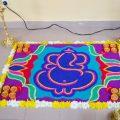 ganpati-rangoli-designs-with-flowers-4