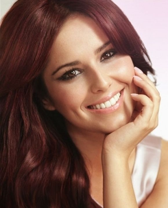 cheryl-cole-red-hair style