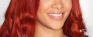 rihanna red hair color