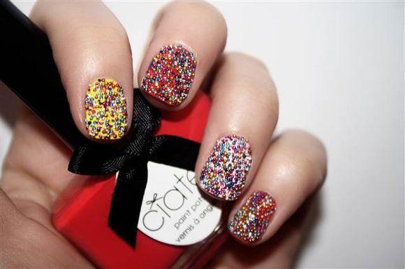 Caviar-nail-art