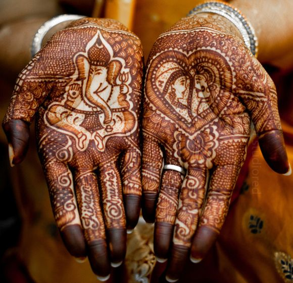 New Amazing Ganesh Ji Mehndi Designs Images for free download