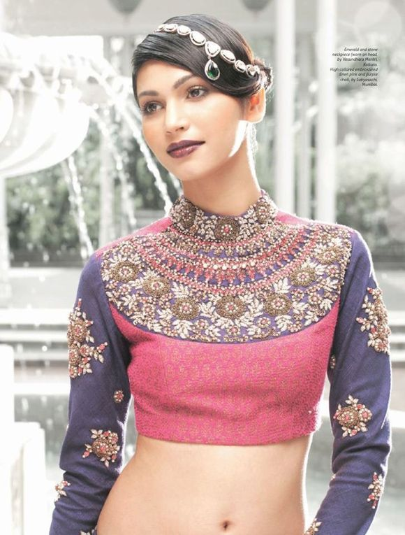 saree-blouse-patterns-with-sleeves-10