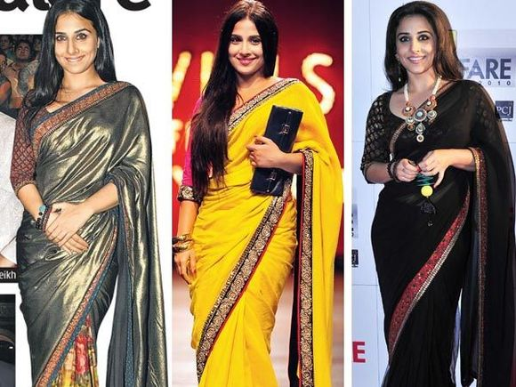vidya-balan-saree-blouse-collection