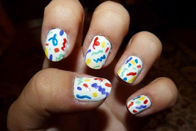Party Confetti Nails-birthday-nails-1