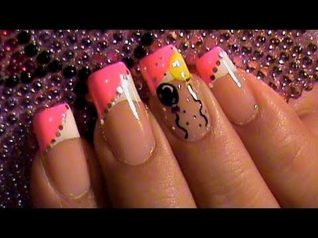 Birthday Ballon Nail Art 3