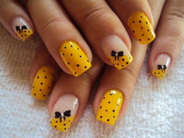 Happy Birthday Themed Nail Art Designs Ideas