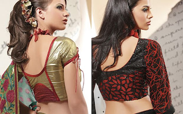Would you try these back neck design pattern simple elegant and can