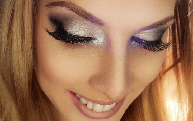 silver-eye-makeup