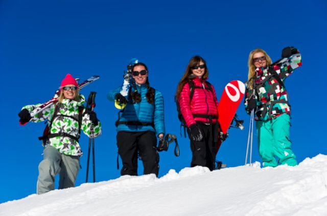 Nakiska Canmore Ski Getaway for women
