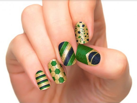 World Cup-Inspired Nail Art for Soccer Fanatics