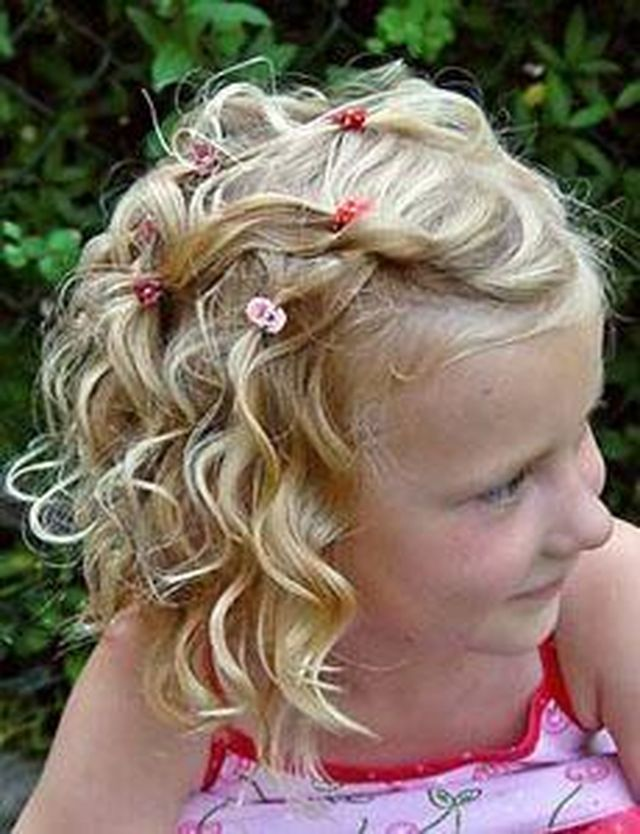 Little Girl Curly Haircuts