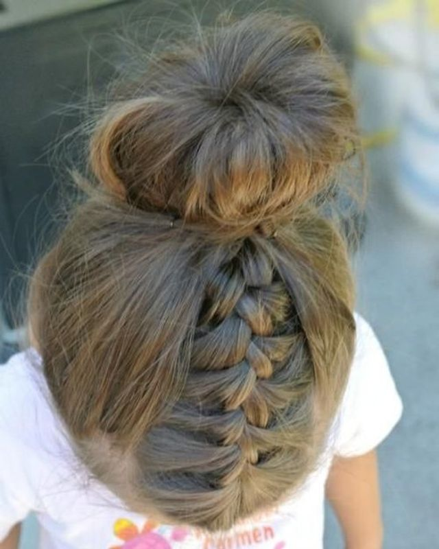 Creative & Cute Hairstyles For Little Girls