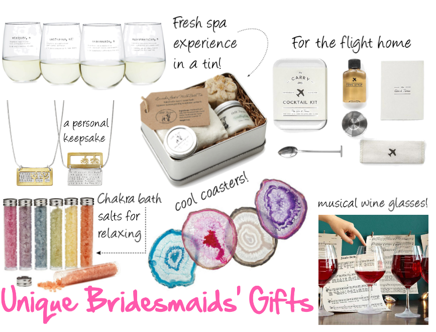 The Perfect Thank You Gifts For Your Bridesmaids Weddings