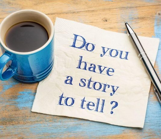 Show You Have a Story to Share
