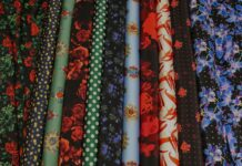 Fabrics by the metre and tailor's shops